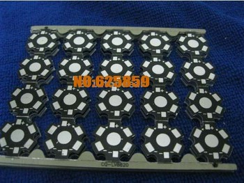 200pcsx 1W 3W 5W High Power LED PCB Aluminum Star base plate Circuit board DIY