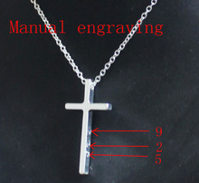 Hot Sale Free Shipping 925 Silver Necklaces Pendants Fashion Sterling Silver Jewelry Cross Necklace TD330