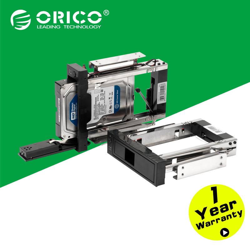 "ORICO 1106SS-BK CD-ROM Space hard disk Mobile Rack Internal 3.5"" sata hdd case HDD Convertor Enclosure 7+15pin hdd caddy(China (Mainland))"