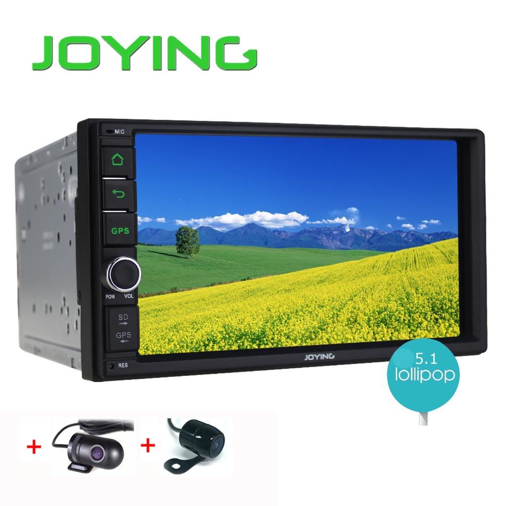 Joying Quad Core 7 inch Car Radio Stereo+DVR+Backup Camera Android 5.1.1 double 2 din Car GPS NAVIGATION system Head unit(China (Mainland))