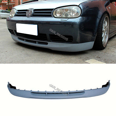 v type golf 4 mk 4 front lip spoiler fit for vw non gti. Black Bedroom Furniture Sets. Home Design Ideas