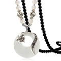 fashion jewellery women bead long necklace chain fox pendant christmas new year birthday gift superdeal