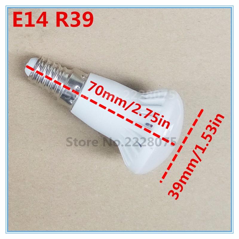 Ac85-265V Smd 5730 E14 3W R39  Led Bulbs Warm / Pure White Bulbs Lamps Spot Led Bulbs Lamp 110V 220V 230V 240V cold WARM white