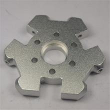 Free shipping 3D printer accessories aluminum full metal delta Kossel mini Effector fisheye effector