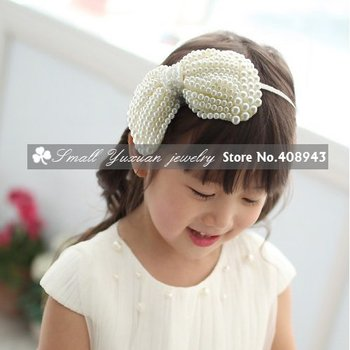 Wholesale/Free Shipping Hot sale New fashion high quality Crystal Pearl Hairbands /Headbands/Hair wear/Girl Hair Accessories