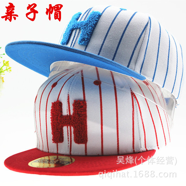 2015 Promotion Unisex Free Baseball Caps Hats The New Children Cartoon Hat Students Cap Flat Along Street Dance Hip Hop Cotton(China (Mainland))