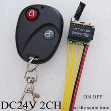 Buy Mini DC24V 2CH Relay Contact Remote Switch 2 CH ON OFF time 2A Relay Normally Open Closed Double open double closed for $9.84 in AliExpress store