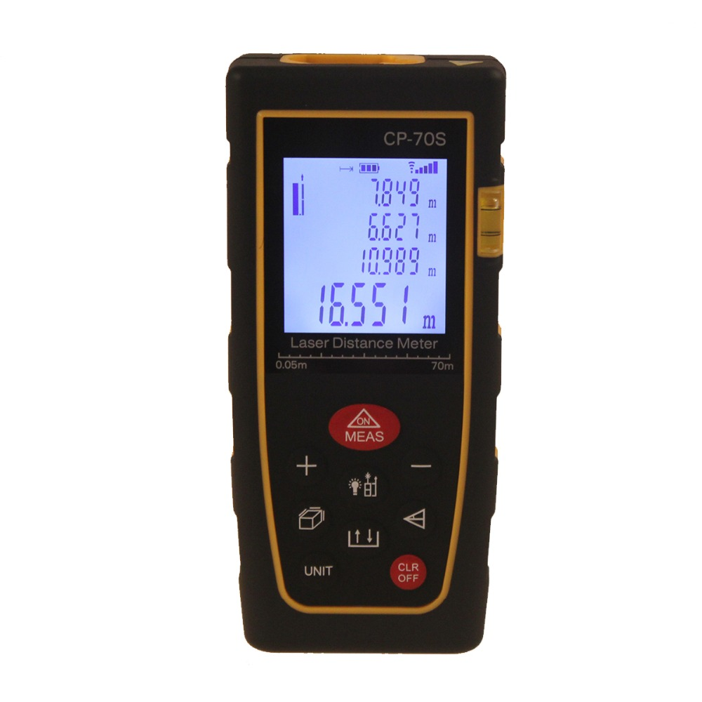 CP-70S 70M(230ft) Mini Laser Rangefinder LCD Display Handheld Laser Distance Meter With Audible Alarm<br><br>Aliexpress
