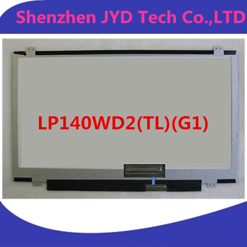 "LAPTOP LCD SCREEN FOR LG PHILIPS LP140WD2(TL)(G1) 14.0"" WXGA++ LP140WD2-TLG1 Moniter Display Replacement Matrix(China (Mainland))"