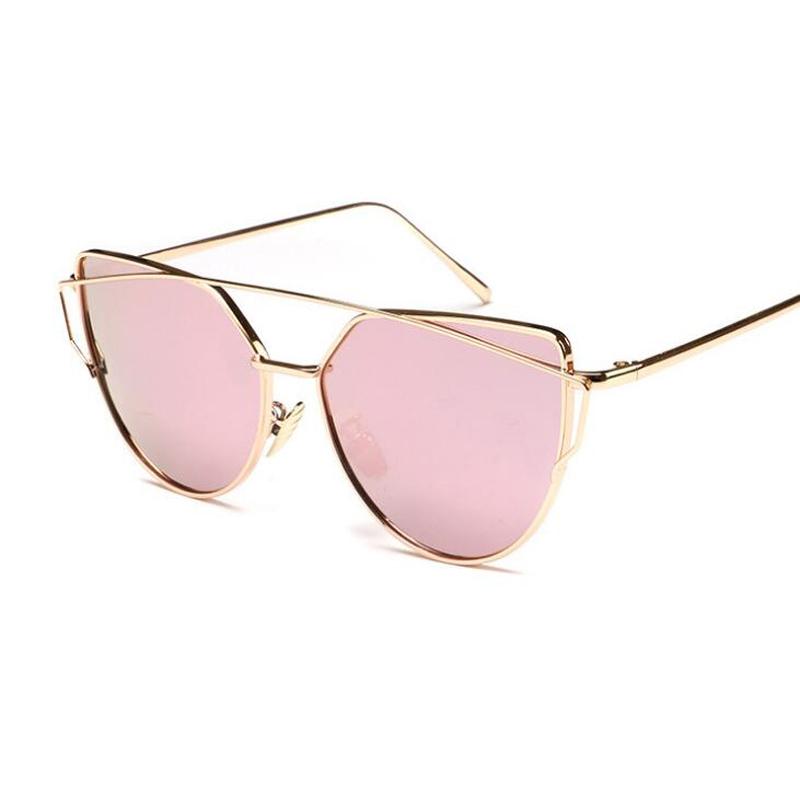 Ladies Metal Frame Glasses : Cat Eye Polarized Sunglasses For Women Spectacles Metal ...