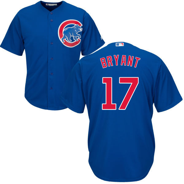 Kris Bryant Chicago Cubs 2016 MLB All-Star Cool Base Player Cubs Jersey - Royal Throwback Baseball Jerseys(China (Mainland))