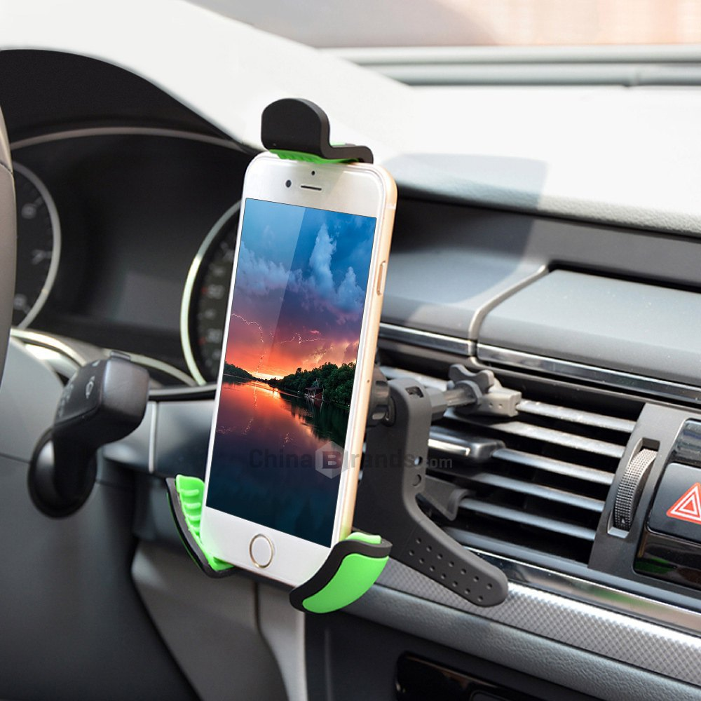 Hot Selling G20K Adjustable Car Air Vent Holder with 360 Degrees Rotation Phone Holder for iPhone 6 6 Plus HTC Samsung S6 Sony(China (Mainland))