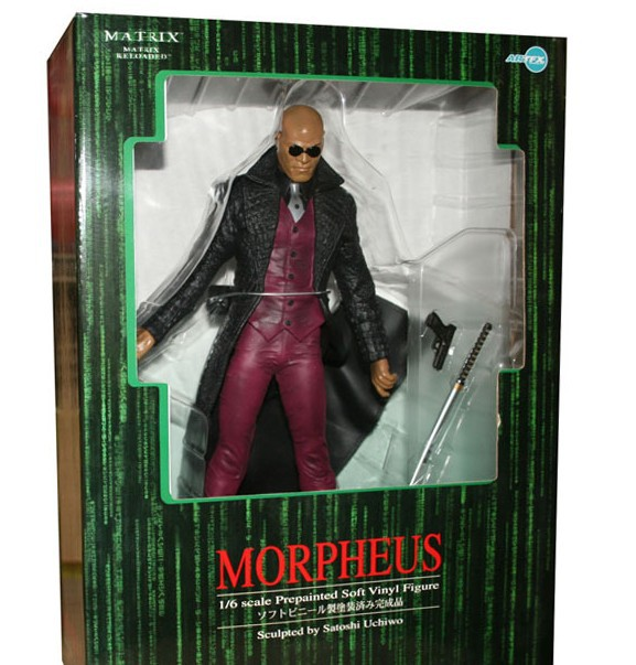 2014 latest hot selling anime pvc toy sexy toy Hand to do model Enter the Matrix morpheus(China (Mainland))
