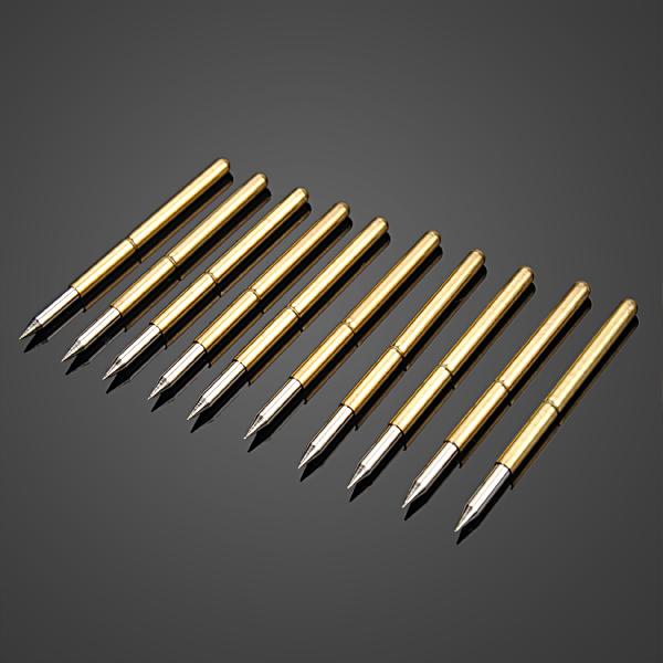 10pcs Ultra Pointed Golden Flexible Multimeter Probe PCB Test Needle BG44<br><br>Aliexpress