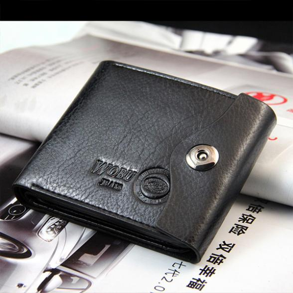2015 New Leather Brand Men s Wallet Multifunctional Short Design Men Wallet Zipper Coin Purse Card