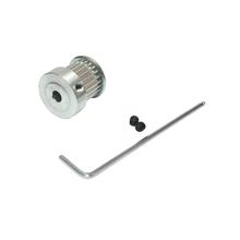 3D Printer Part 3M Teeth Number 15 Aluminium Timing Belt Pulley Bore 5mm 6mm 6.35mm 8mm Belt Pulley Teeth Width 16mm