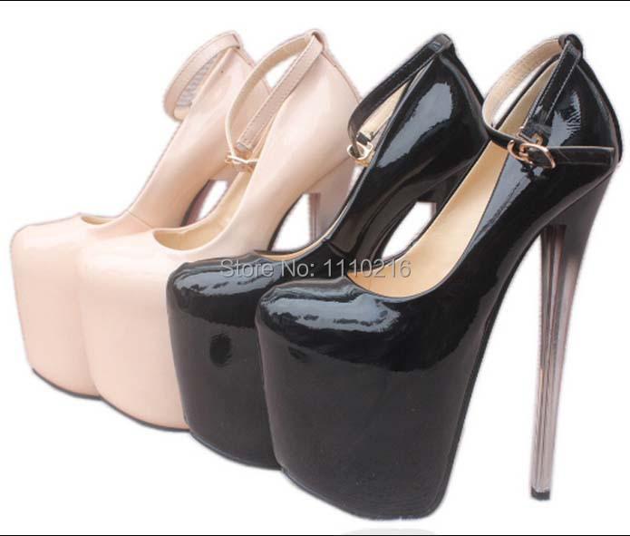 2016 new sexy tenis feminino sapatos salto alto women platforms pumps stiletto strappy ultra high heels shoes large size 35-43