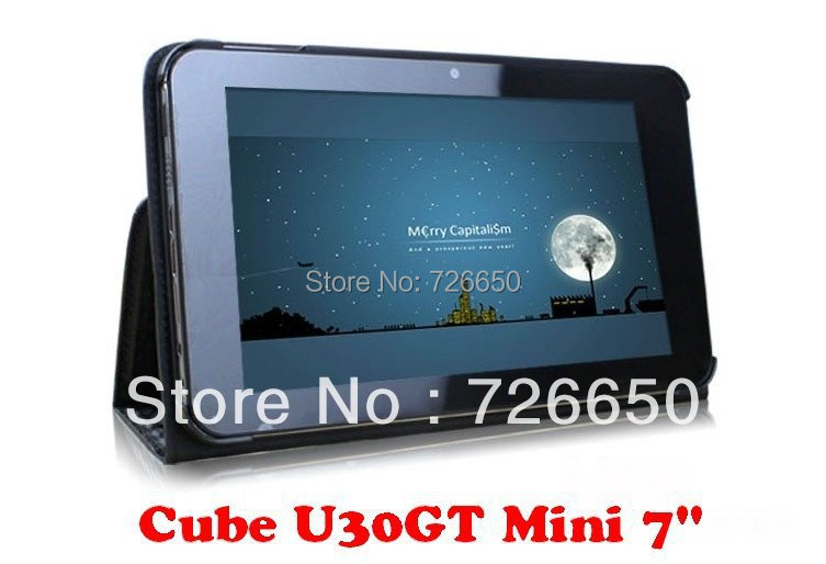 "For Cube U30GT Mini luxury leather case , Original Fashion Cover For Cube U30GT 7""(China (Mainland))"