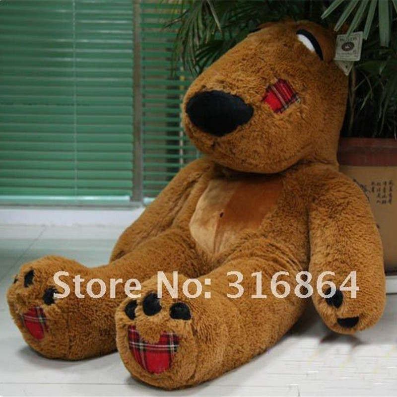 """47"""" 1.2m size Christmas Gift Big Bear Plush Toy Soft Toy Stuffed Toy Factory Supply High Quality And The Best Price(China (Mainland))"""