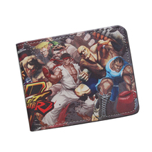 Buy STREET FIGHTER Wallet Cool Short Leather Wallet Teenager Boy Girl ID Card Holder Money Bag Retro Nintendo Game Wallet Purses for $4.30 in AliExpress store