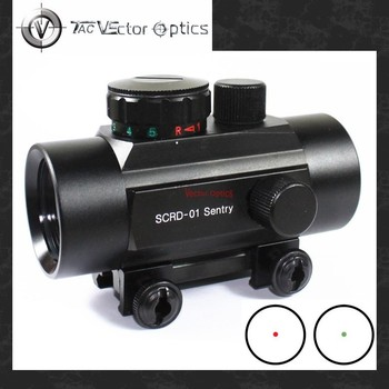 Vector Optics Hunting 1x35 Reflexible Red Dot Rifle Scope Sight with 20mm Weaver Mount Shock Proof MAX