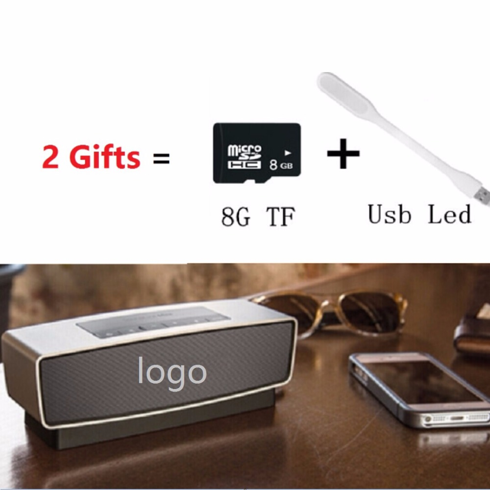 Bluetooth Speaker with Logo Altavoz Speakers Parlantes Blutooth 3D Surround Subwoofer Stereo HIFI Caixa De Som Support SD Card