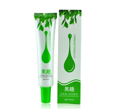 Sex Products Edible Lubricant 50ML Green Tea Water Based Flavor Based Body Oil Lubricante Sexuales Oral Sex Lubricants DY126(China (Mainland))
