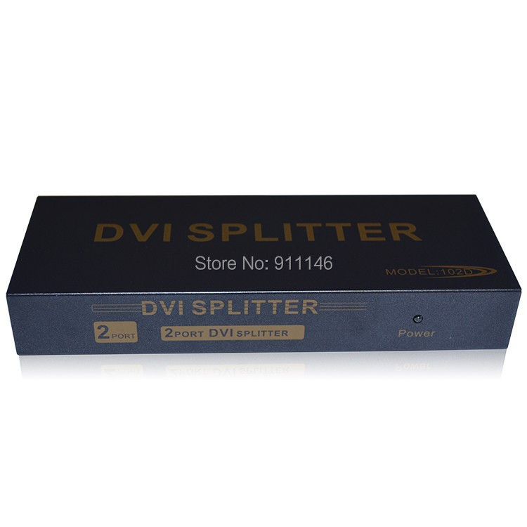Dvi splitter hub projectionmeter dvi-d ekl<br><br>Aliexpress