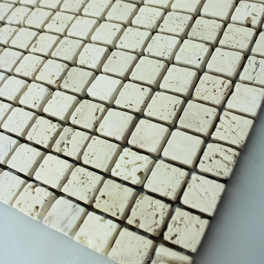 Hacer Del Baño Moco Amarillo:Stone Mosaic Tiles