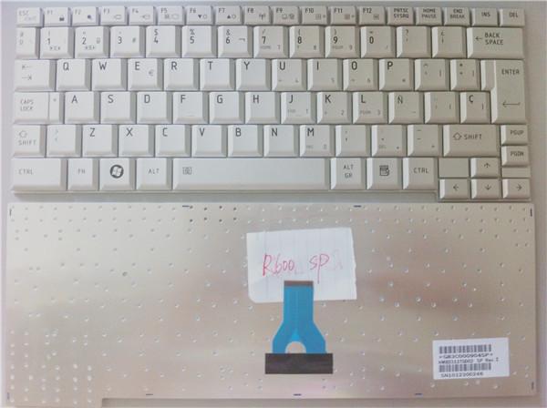 New SP/LA keyboard for Toshiba R500 R501 R502 R510 R600 A600 A601 A602 RX1 RX2 keyboard Spanish/Latin version (Hungary optional)<br><br>Aliexpress