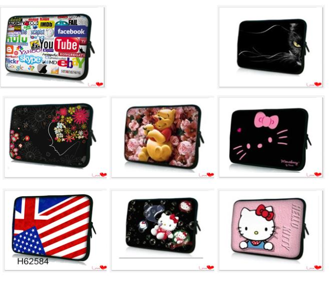 "2014 Hot Sale Personality Computer Bag For 12"",13"",14"" ,15"" &17"" Inch Tablet PC Cover Notbook Laptop Bag Cases Notebook Sleeve(China (Mainland))"