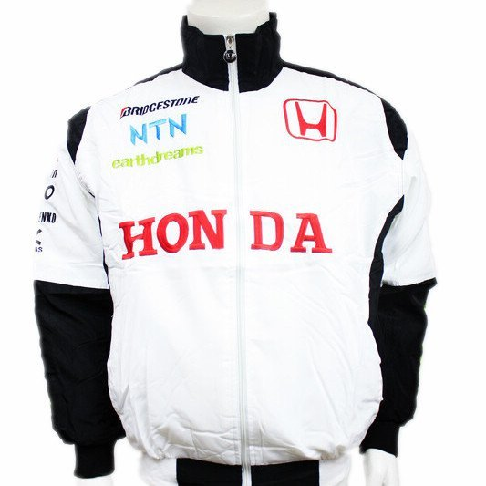 Accept, wholesale, zero,F1 team latest car cotton-padded jacket,coat  embroidery racing clothes! c3