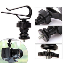 Free Shipping 360 Degree Rotation Car Mount Sun Visor Clip Holder for Recorder Camera DVR High Quality New