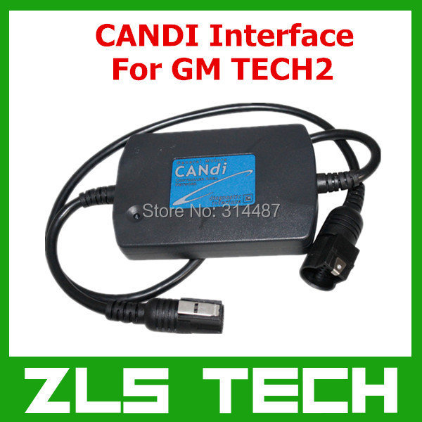 2015 New Arrival CANDI Interface for GM TECH2 B Free Shipping(China (Mainland))