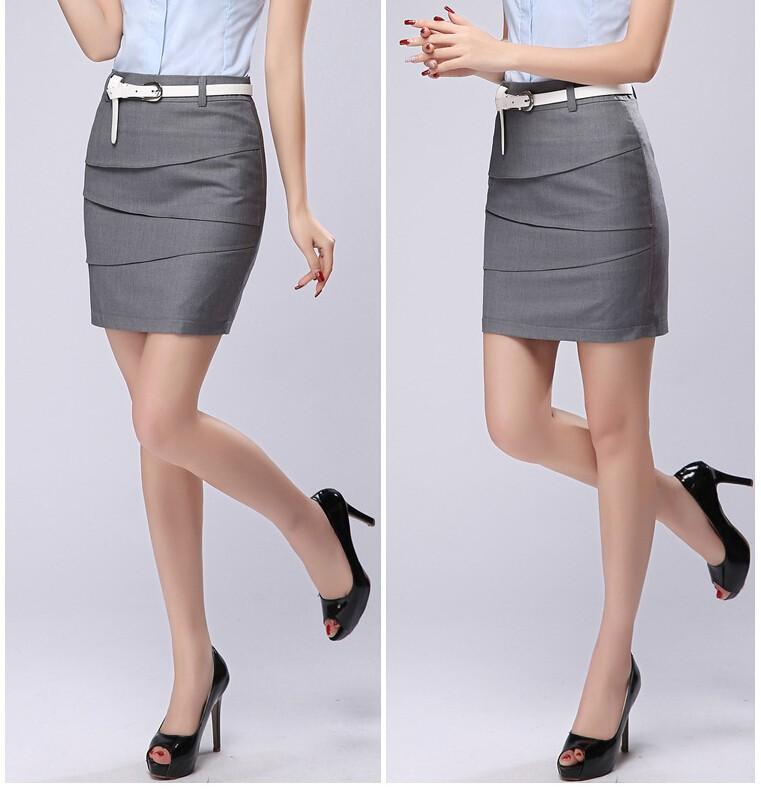 Plus Размер S-3XL Pencil Skirts 2015 Summer Женщины's Workwear Formal Saias FeМиниnas ...