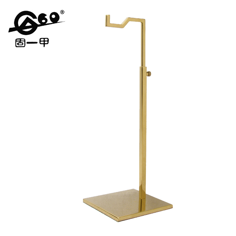 Exhibition Stand Measurements : Metal material high quality handbag stand height