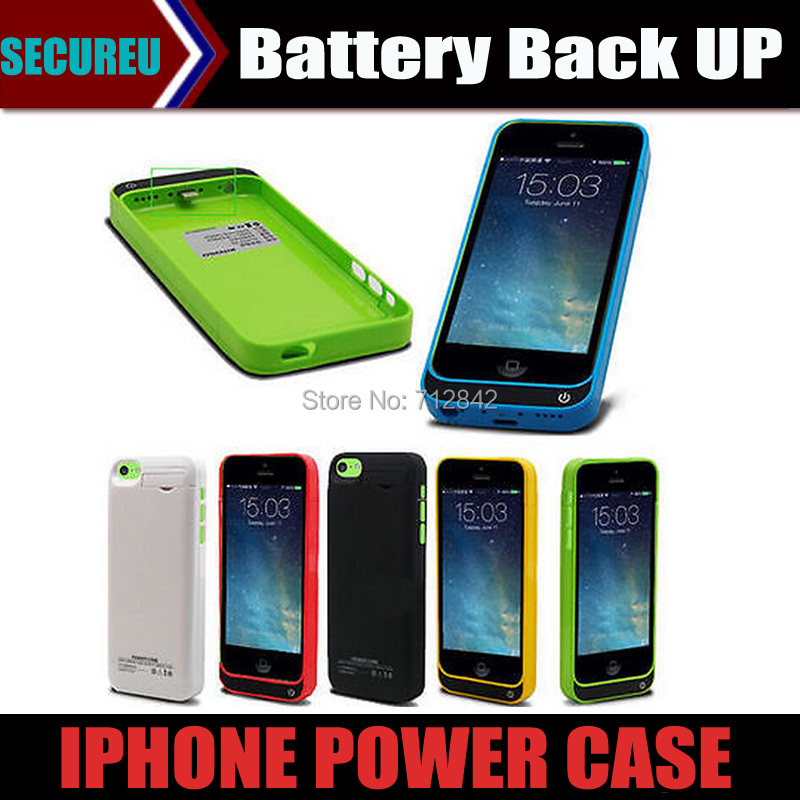 4200mAh External power bank pack backup battery for iphone 5 5s 5cBrand New External Battery Backup Charger Case Pack Power(China (Mainland))