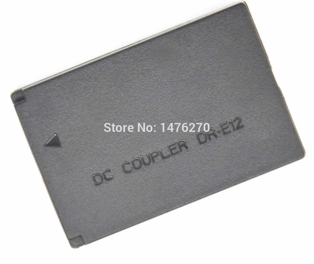 DR-E12 DR E12 DC Coupler LP-E12 LPE12 dummy battery fit camera power adapter charger supply for Canon EOS M EOM-M EOS M2 EOS-M2(China (Mainland))