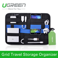 Ugreen digital device organizer travel storage bag for iPhone tablet mobile phone USB cable earphone charger power bank