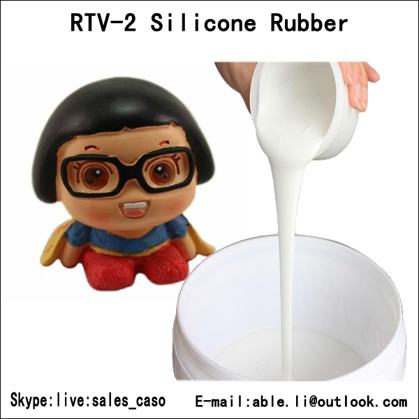 1kg liquid molding silicone with tin catalyst,silicone rubber for resin craft molds(China (Mainland))