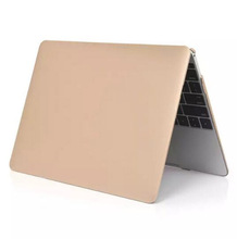 2016 New Metal Gold Color Laptop Hard Shell Sleeves Cover Case For Apple Macbook Air 11 12 13 Pro 13 15 Retina With Stylus