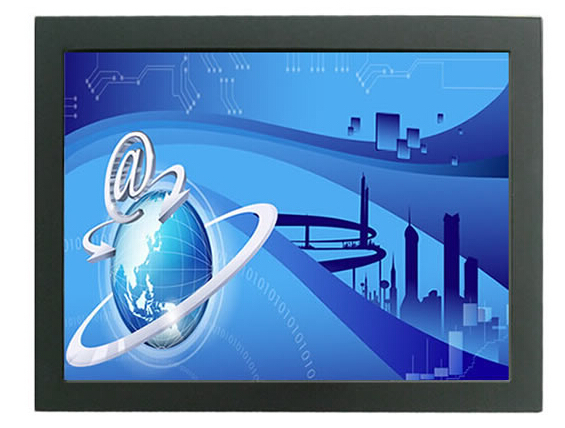 Lcd open frame touch monitor top quality,17 inch lcd open frame touch monitor with 5 Wire Resistive touch screen display(China (Mainland))