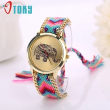 Excellent Quality Vintage Women Native Handmade Quartz Watch Knitted Dreamcatcher Watch Relojes Mujer Drop Ship Christmas Gift(China (Mainland))