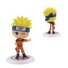 2016 New 6Pieces/A Lot Naruto Series Action figure Toys Japanese Anime Carton For Kids Gift Collectible Toy Doll Boy PVC Model