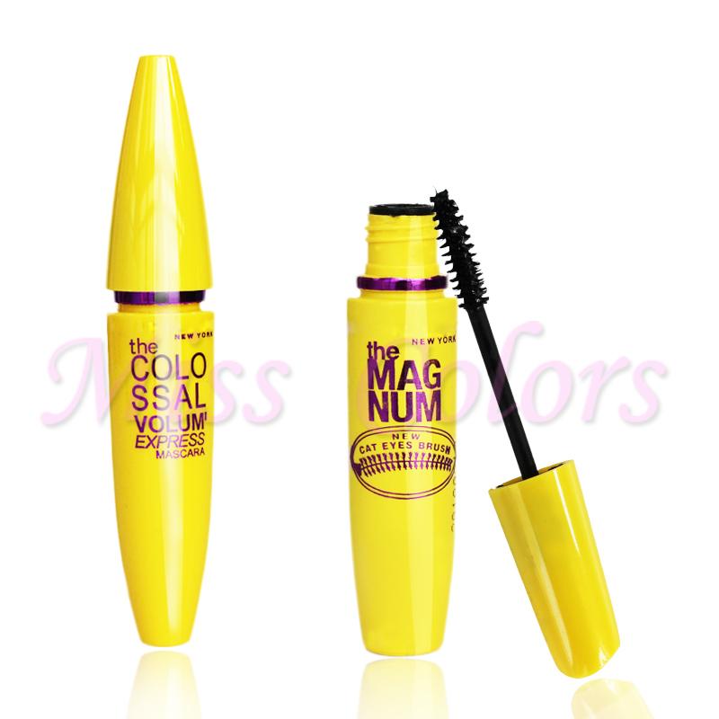 Hotsale Brand 1 pcs Women Beauty Makeup Waterproof Mascara Cosmetics Eyelash Voluming Mascara Natural Lengthening Eye Lash(China (Mainland))