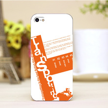 PZ0004-12-2Cute Cartoon Art Design Customized cellphone transparent cover cases for iphone 4 5 5c 5s 6 6plus Hard Shell