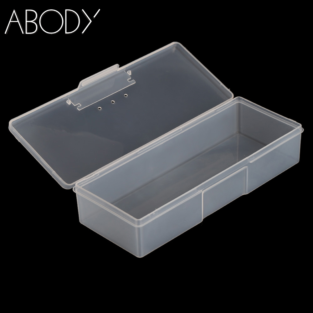 Plastic Nail Art Storage Box Storage Display Box Case for Jewelry Beads Pills Nail Art Tips Portable Nail Art Equipment Tool NEW(China (Mainland))