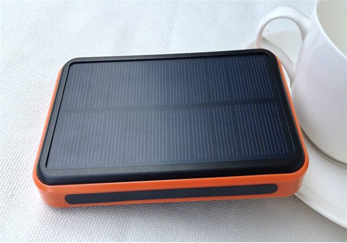 2016 best style waterproof portable solar power bank 9800 mah External battery Charger Backup Bateria charger for mobile phone(China (Mainland))