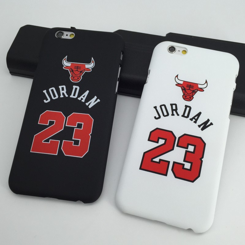 Phone Cover Sport NBA Brand Michael Jordan 23 Chicago Basketball Pattern Hard Cell Phone Cases for iPhone 5 5s 6 6 puls SJK120