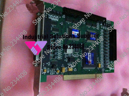 4 axis motion control card ADT850 control card of PCI bus two axis and four axis motion control card(China (Mainland))